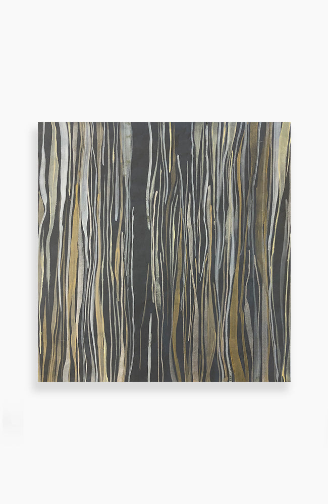 Polished Bronze Stripes 26 x 25