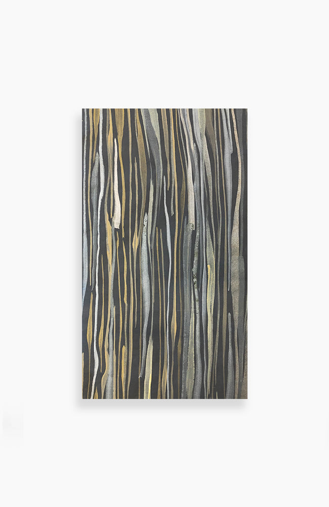 Polished Bronze Stripes 21 x 12