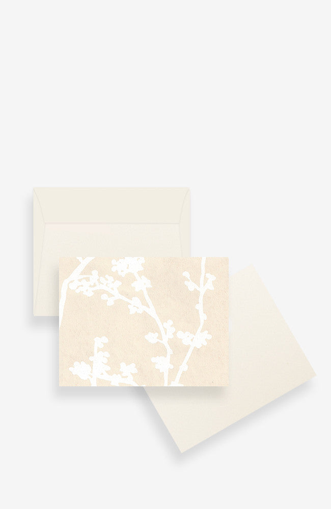 Notecard Set - Creme