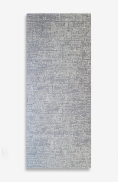 Mauve Fossil - ACRYLIC INK ON JAPANESE PAPER - 7 Foot Roll
