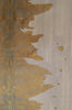 Blushing Bronze Ink Blot Roll - Acrylic Ink on Japanese Paper - 9 foot roll