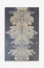 Lavande and Peche Ink Blot Roll - Acrylic Ink on Japanese Paper - 5 foot roll