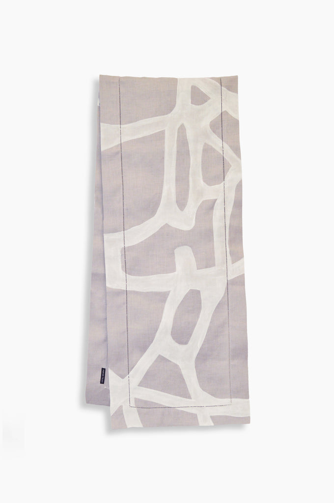 Lavender Tangled Table Runner 72""