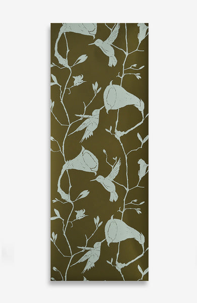 Verdatre Climbing Vine - Handprinted - 13 Foot Roll