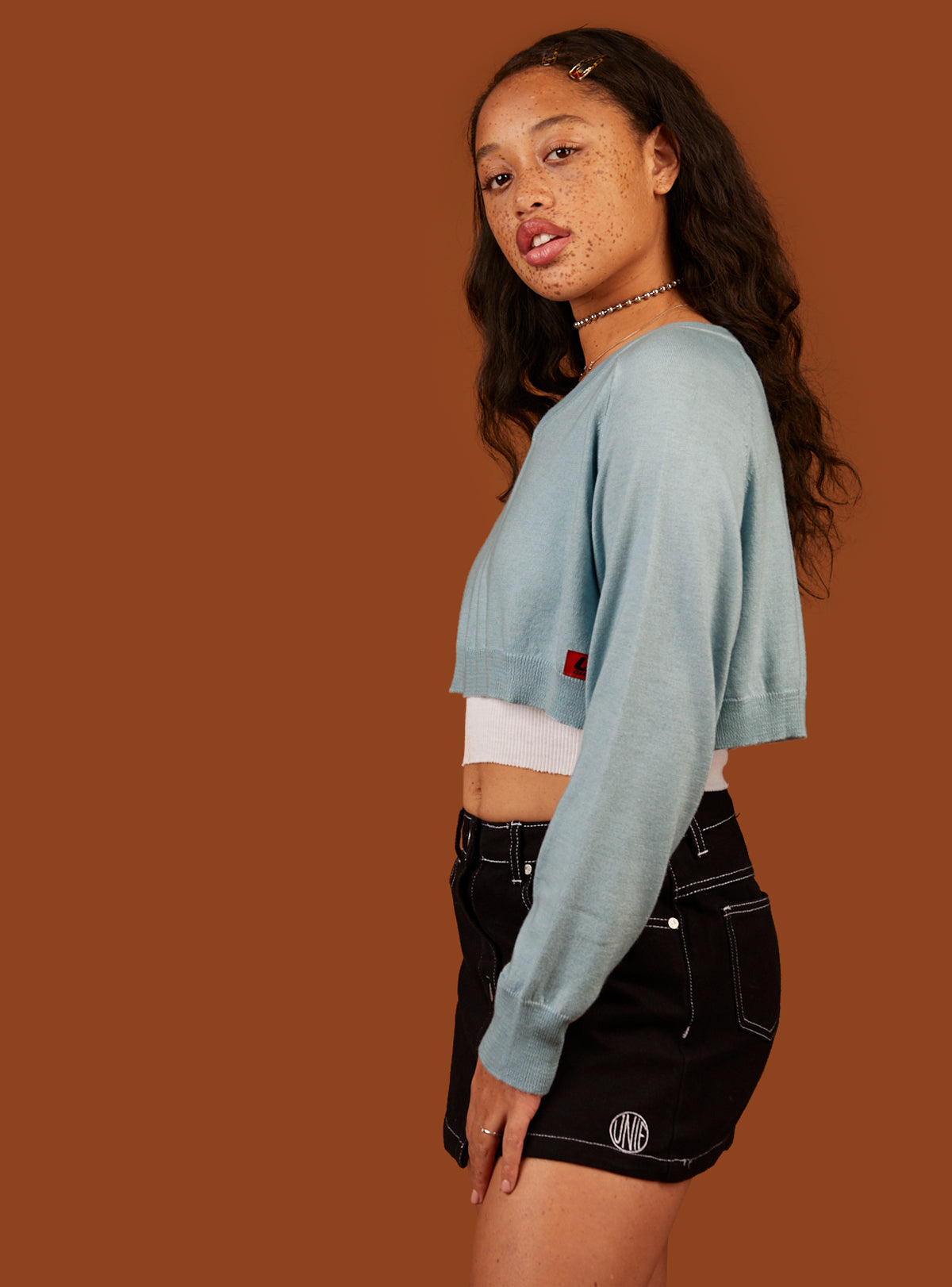 Mag Cropped Sweater