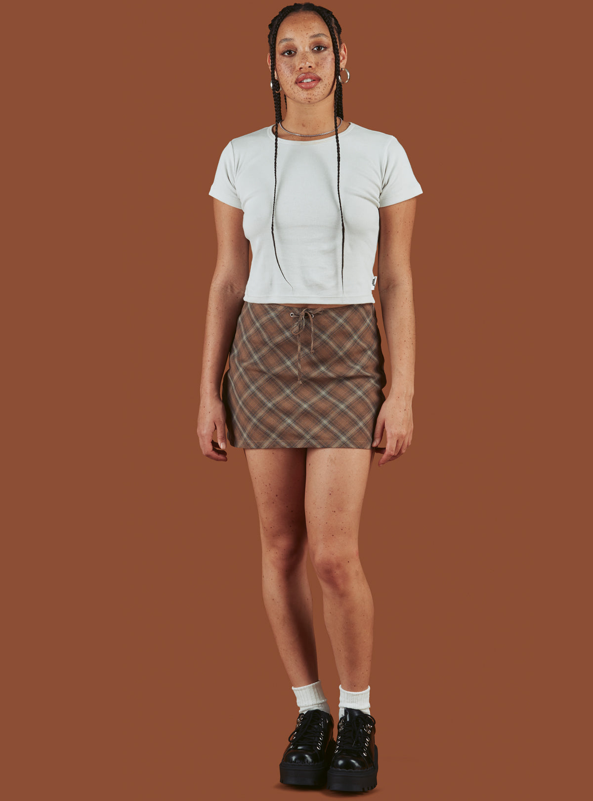Biscuit Mini Skirt