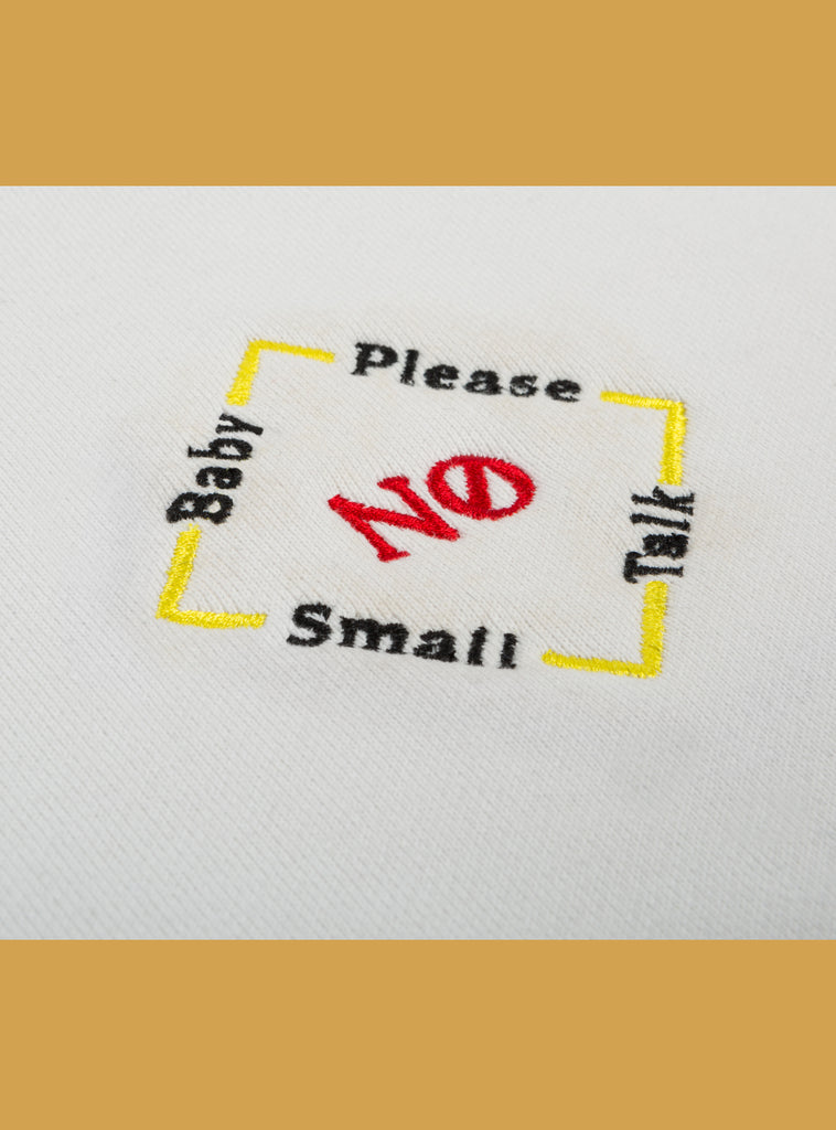 No Small Talk Tee