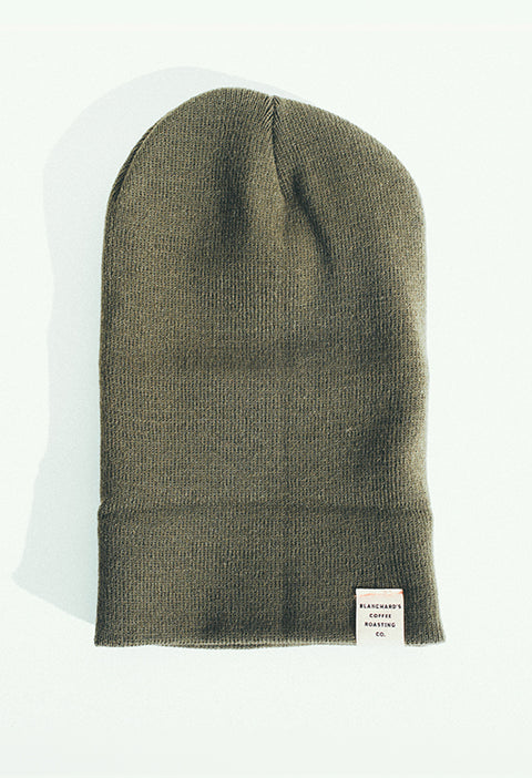 Coffee Tree (More or Less) Beanie in Forest Green