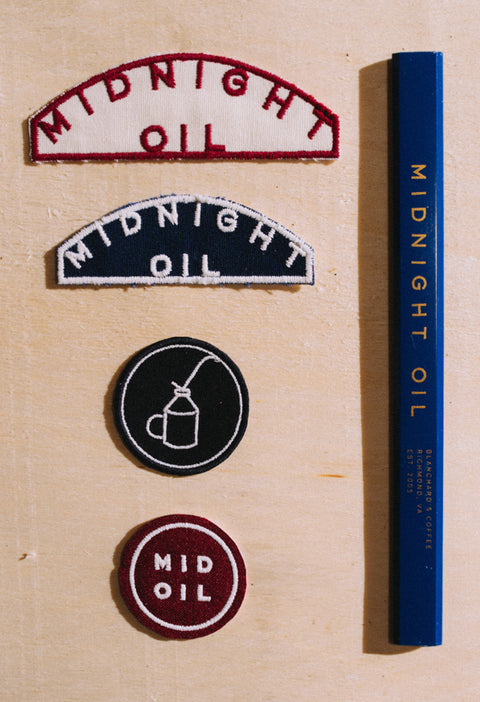 Midnight Oil Patch Set