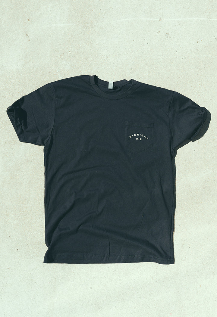Midnight Oil Pocket T