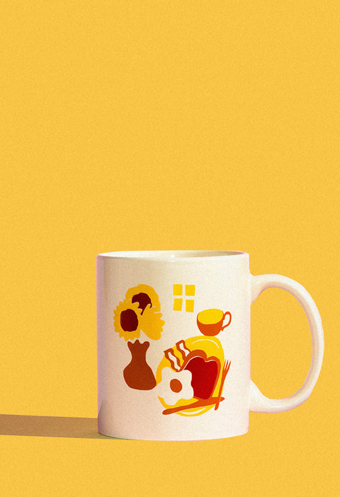 Coffee For Breakfast Mug