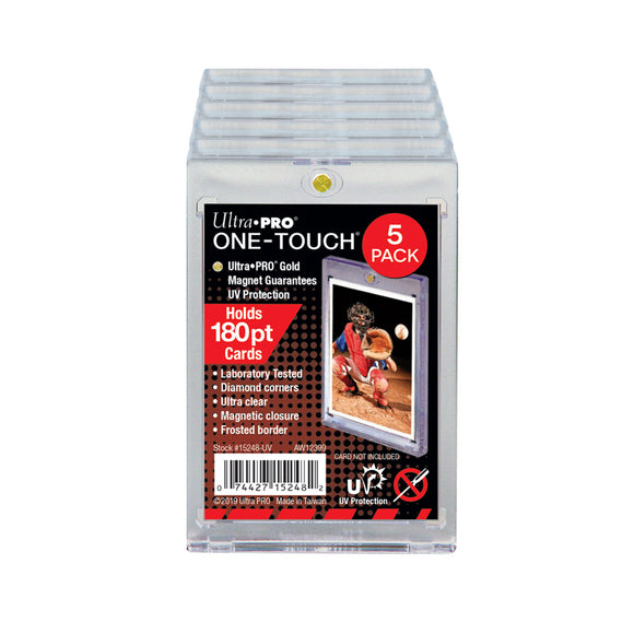 180pt Ultra Pro One-Touch Magnetic Holder - 5 Pack
