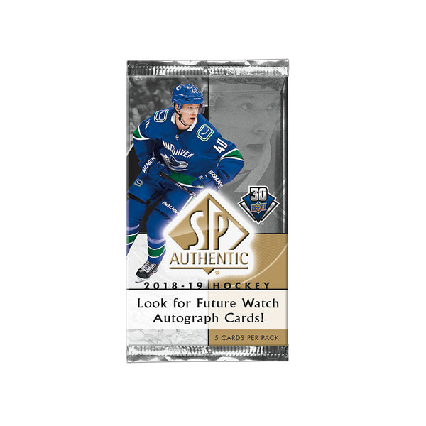 2018/19 UD SP Authentic Hobby Pack