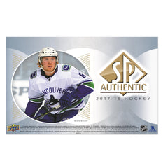 2017/18 SP Authentic Hockey Box