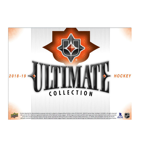 2018/19 UD Ultimate Collection Hobby Box (PRE-ORDER)