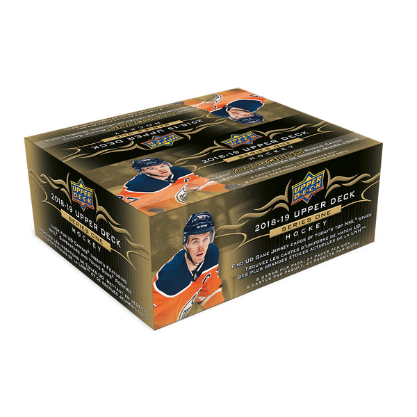 2018/19 Upper Deck Series 1 Retail Box