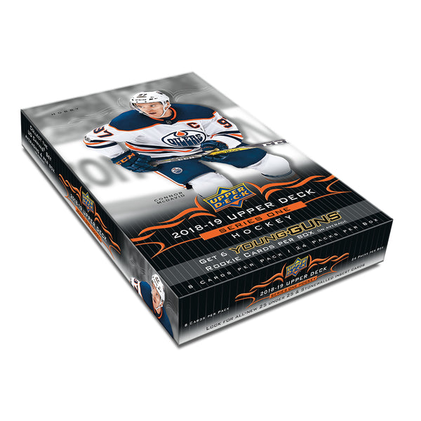 2018/19 Upper Deck Series 1 Hockey Hobby Box