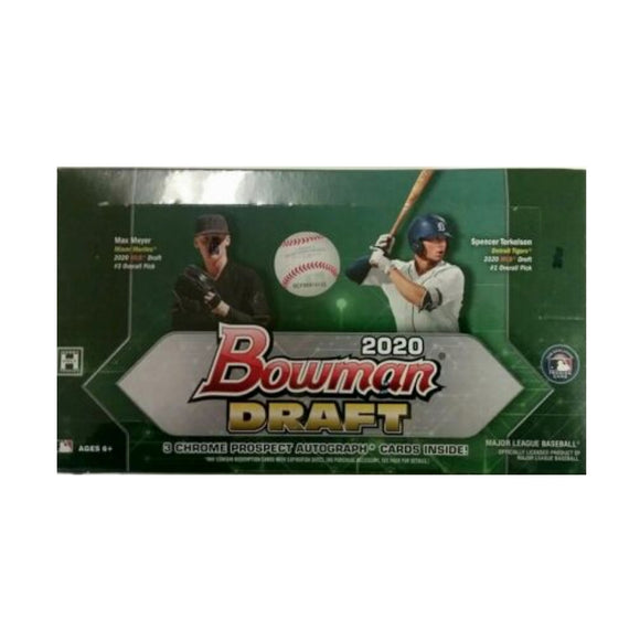 2020 Bowman Draft Hobby Jumbo Box