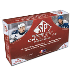 2019/20 UD CHL SP Game Used Hockey Hobby Box