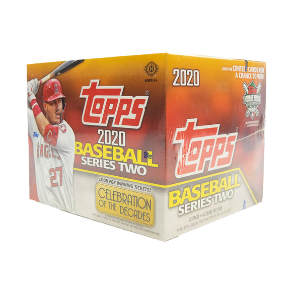 2020 Topps Series Two Baseball Jumbo Box