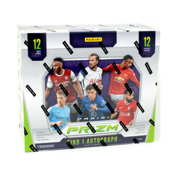 2020/21 Panini Prizm English Premier League Soccer Hobby Box