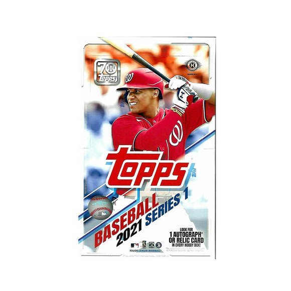 2021 Topps Series 1 Baseball Hobby Box