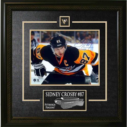 Custom Framed 8x10 With Etching - DM Sports