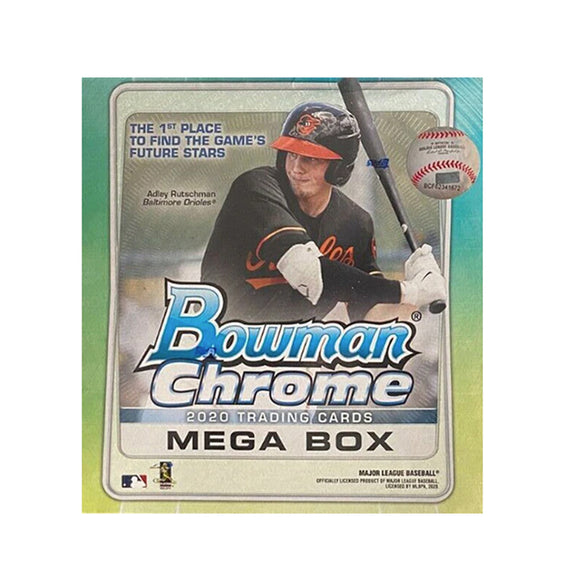 2020 Bowman Chrome Baseball Mega Box