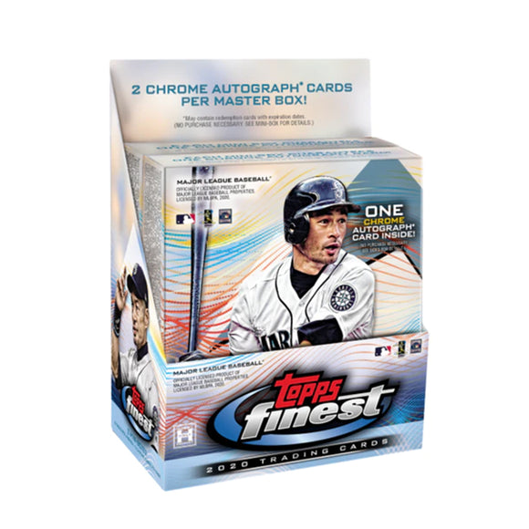 2020 Topps Finest Baseball Hobby Box