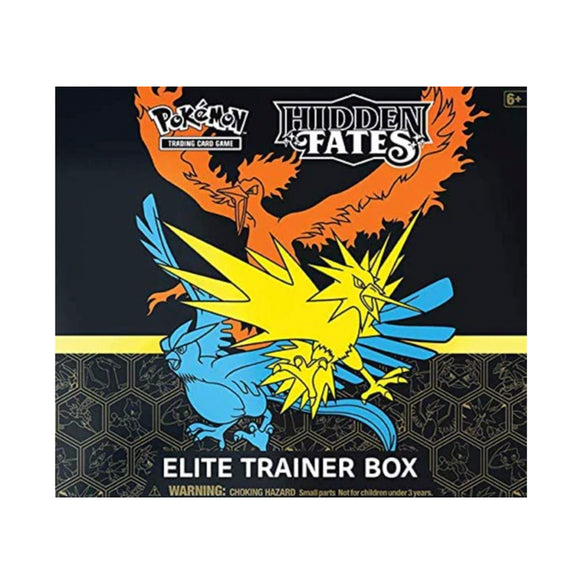 Pokemon Hidden Fates Elite Trainer Box