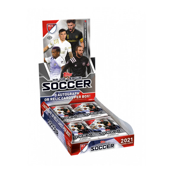 2021 Topps Major League Soccer Hobby Box