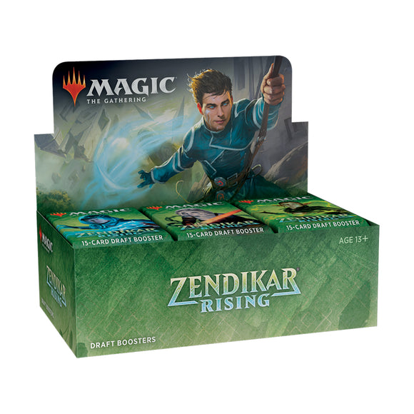 MTG Zendikar Rising Draft Booster Box