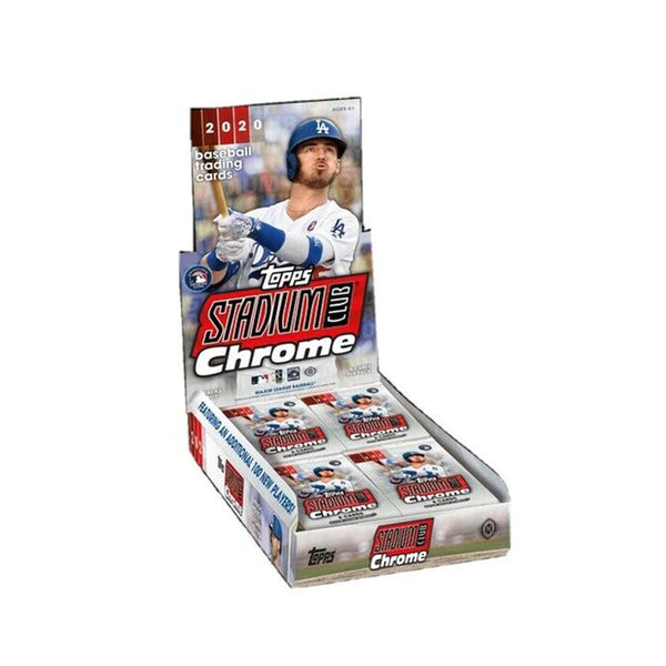 2020 Topps Stadium Club Chrome Baseball Hobby Box