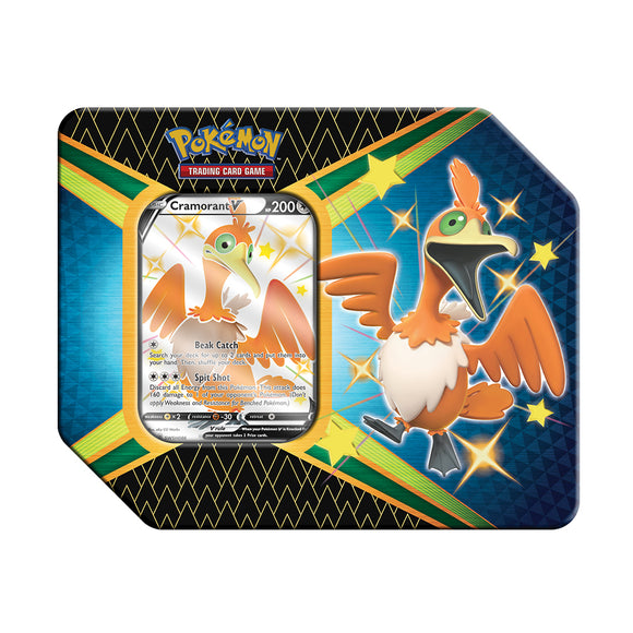 Shining Fates Pokemon Tin - Cramorant V