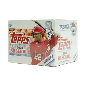 2021 Topps Series 1 Baseball Jumbo Box