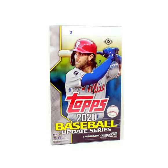 2020 Topps Baseball Update Hobby Box