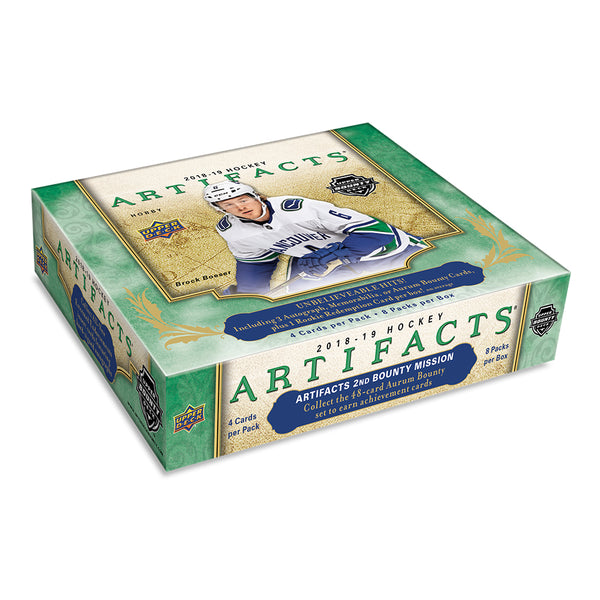 2018/19 UD Artifacts Hockey Hobby Box