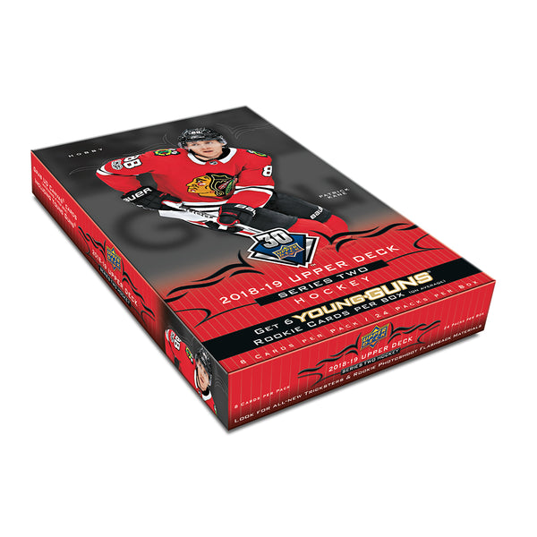 2018/19 Upper Deck Series 2 Hobby Box