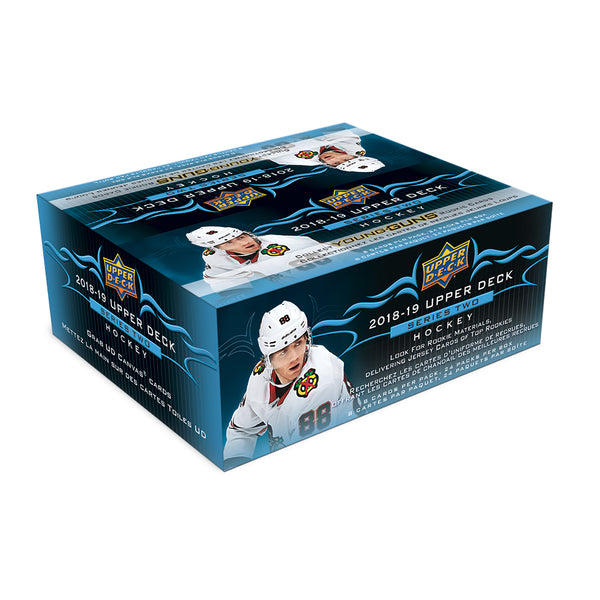 2018/19 Upper Deck Series 2 Retail Box