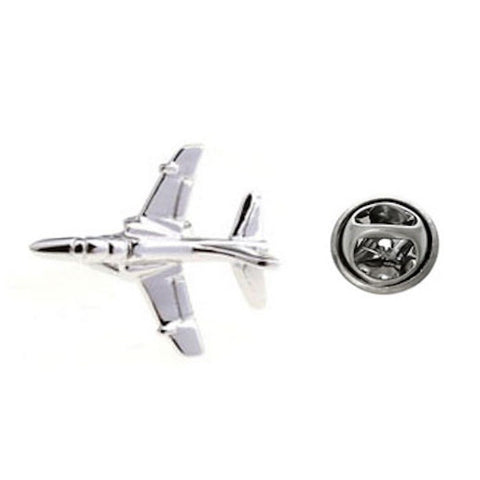 Airplane Fighter Jet Lapel Pin Tack Tie