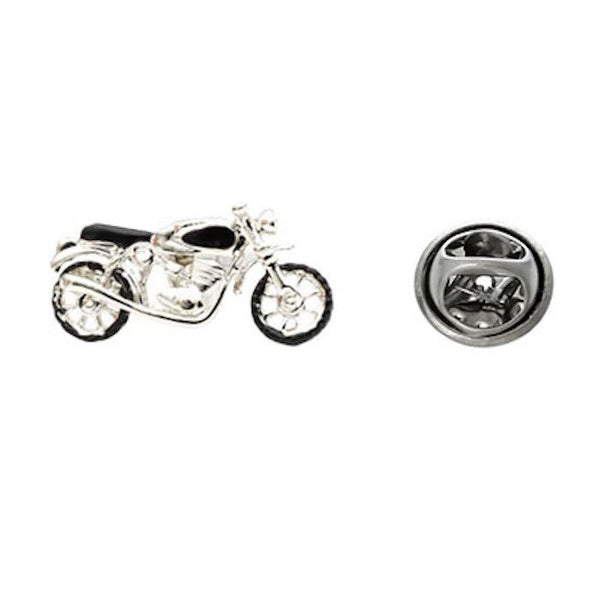 Motorcycle Vintage Lapel Pin Tack Tie Bike