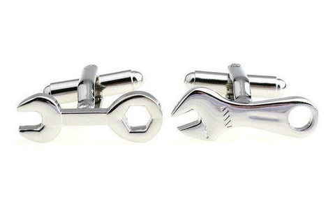 Wrench Spanner Toolbox Cufflinks