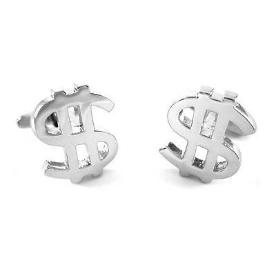 Dollar Sign Currency Cufflinks