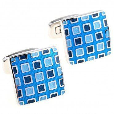 Blue Shaded Cufflinks