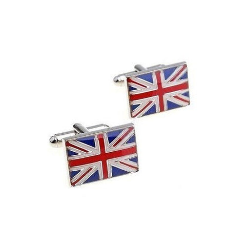 UK Union Jack Flag Cufflinks