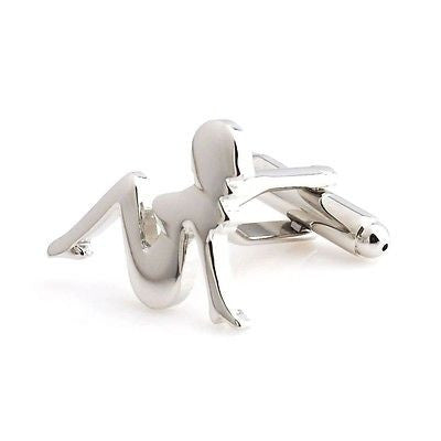 Trucker Girl Cufflinks