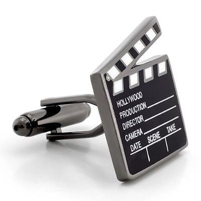 Clapperboard Hollywood Cufflinks