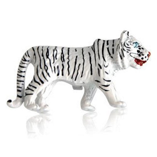 Tiger White Animal Cufflinks