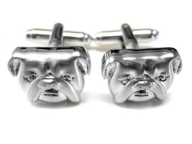 Bulldog Dog Cufflinks