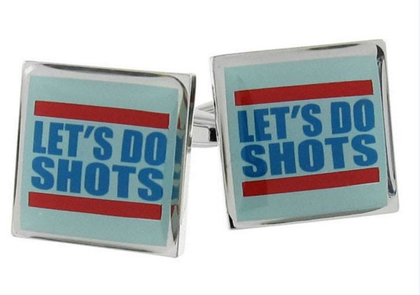 Lets Do Shots Cufflinks